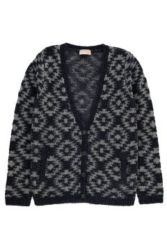 Jacquard Strickjacke Diamant(112328262)
