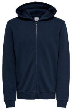 ONLY & SONS Kapuzen Sweatshirt Herren Blau(107880714)