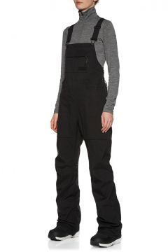 Pantalons pour Snowboard Femme Burton Avalon Bib - True Black(111322885)