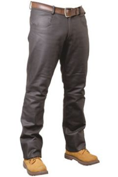 Jeans Pallas Cuir Pantalon en cuir VACHETTE ref_reg02703-marron(88511960)