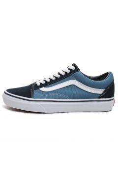 Vans Old Skool Unisex Spor Ayakkabı Mavi(117009083)