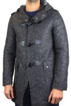 Manteau Kebello Duffle coat à capuche mi-long H Gris(101566511)