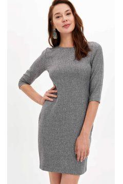 DeFacto Kadın Regular Fit Uzun Elbise(125920710)