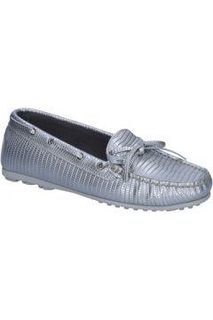 Chaussures K852 Son mocassins argent cuir BT934(98485333)