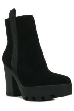 Boots Calvin Klein Jeans Serina Suede Black(115441462)
