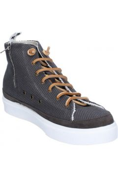 Chaussures Bark sneakers gris textile daim AG589(115393491)