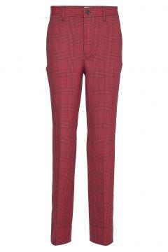 Suiting Hose Mit Geraden Beinen Rot GANNI(114157826)