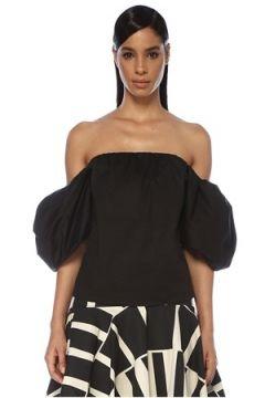 Johanna Ortiz Kadın Our Secret Siyah Düşük Omuzlu Balon Kol Bluz 6 US(119423008)