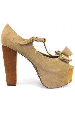 Sandales Jeffrey Campbell sandales beige textile ap664(115443205)