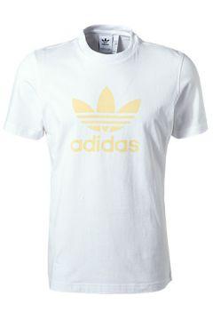 adidas ORIGINALS Trefoil T-Shirt white FM3790(111099785)