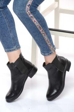 Shoes Time Siyah Kadın Bot(123474786)