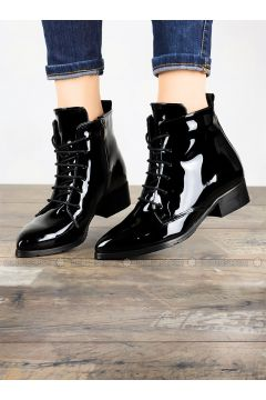 Black - Boot - Boots - Angelshe(110340366)