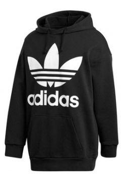 Sweat-shirt adidas OVER HOOD FELPA CON CAPPUCCIO NERA(115476543)