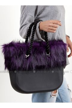 Purple - Shoulder Bags - Efem(110340225)