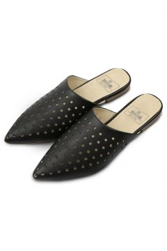Rollbab Kadın Siyah Black Perforated Classic Terlik(124973833)