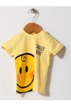 Mammaramma Erkek Smile Sarı T-Shırt(113968144)
