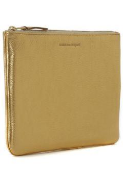 Pochette Comme Des Garcons Pochette Wallet Comme des Garçons en cuir or(115435541)