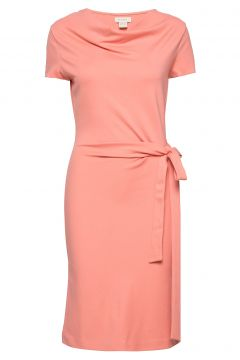 Lily Ecovero Dress Kleid Knielang Pink RESIDUS(109152162)