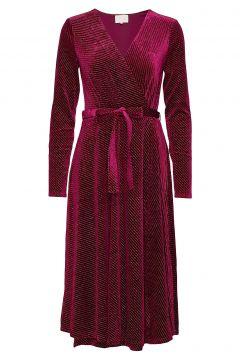 Lizzie Dress Boozt Kleid Knielang Rot MINUS(114164206)