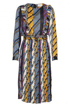 Kenzie Dress Kleid Knielang Bunt/gemustert MINUS(114163728)