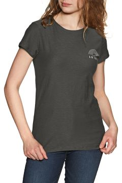 Animal Sportz 2 Damen Kurzarm-T-Shirt - Raven Black(110361088)