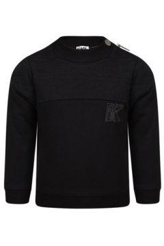 Sweat-shirt enfant Karl Lagerfeld Logo effet cuir Junior(101599646)