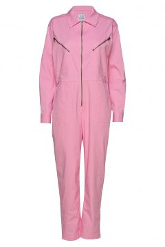 Bondi Solid Jumpsuit Pink LINE OF OSLO(108574174)