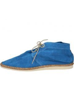 Boots Brimarts bottines bleu daim BZ568(88470326)