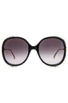 Солнцезащитные очки round fork - Gucci(125442724)