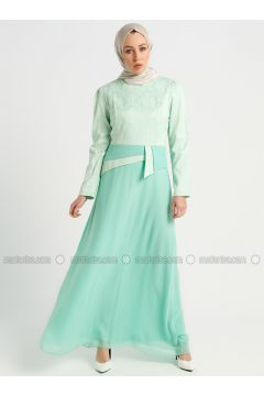 Mint - Crew neck - Fully Lined - Dresses - Mileny(110336173)