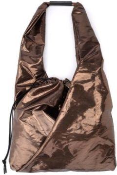 Cabas Mm6 Maison Margiela Shopper en tissu laminé bronze(115666691)