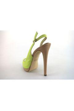 Sandales Paul Betty sandales vert cuir AG358(127853092)