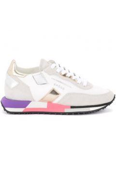 Chaussures Ghoud Sneaker Rush in mesh e camoscio bianco con dettagli(115627067)