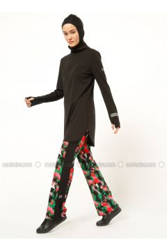 Black - Polo neck - Tracksuit Top - FD SPORTS(110335474)