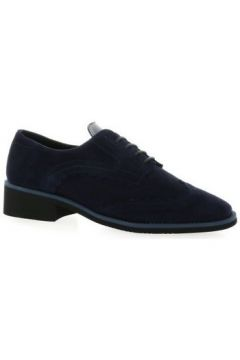 Chaussures So Send Derby cuir velours(115613189)