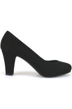 Chaussures escarpins Raffaele Pintucci escarpins noir daim AJ587(115400264)
