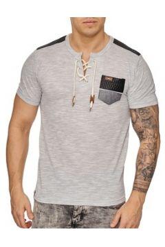 T-shirt Cabin Tee shirt mode homme Tee shirt 2933 gris clair(115398091)