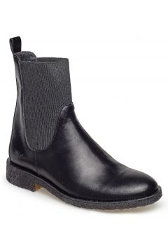 7317 Shoes Boots Chelsea Boots Ankle Boots Flat Heel Schwarz ANGULUS(114158625)
