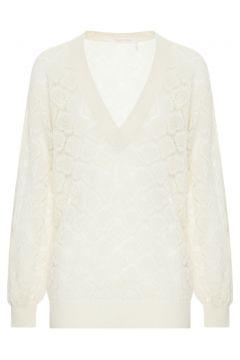 Pullover aus Alpaka-Wolle(117376002)