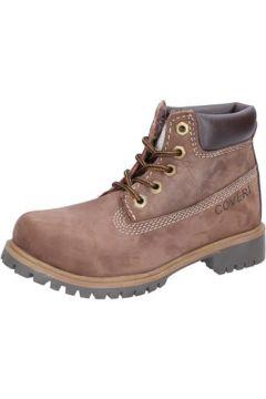 Boots enfant Enrico Coveri COVERI bottines marron cuir suédé AD832(88482270)