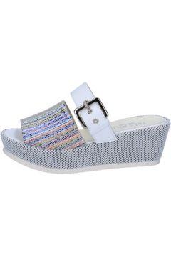 Sandales Tres Jolie sandales blanc cuir multicolor BY415(115401137)