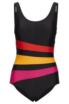 Swimsuit Bianca Classic Badeanzug Bademode Schwarz WIKI(112084853)