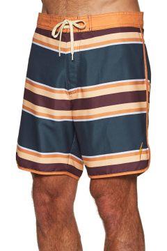 Lightning Bolt 70\'s Striped Boardshorts - Laurel Green(116437370)