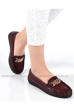 Maroon - Casual - Shoes - Sapin(110325748)