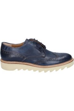 Chaussures Evc élégantes bleu cuir BT956(98485342)