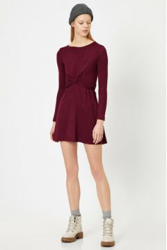 Koton Kadın Büzgülü Elbise(113405727)