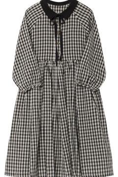 Kleid aus Baumwolle und Leinen(113868585)