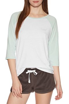 Animal Surfside Damen Langarm-T-Shirt - Harbour Green(110360971)