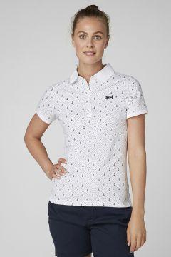 Helly Hansen W Siren Polo Beyaz Polo T-Shirt(120140047)