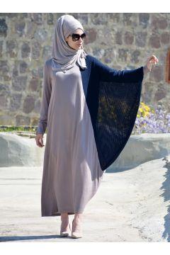 Robe Henna Elısa Bleu Marine / Vison(109327303)